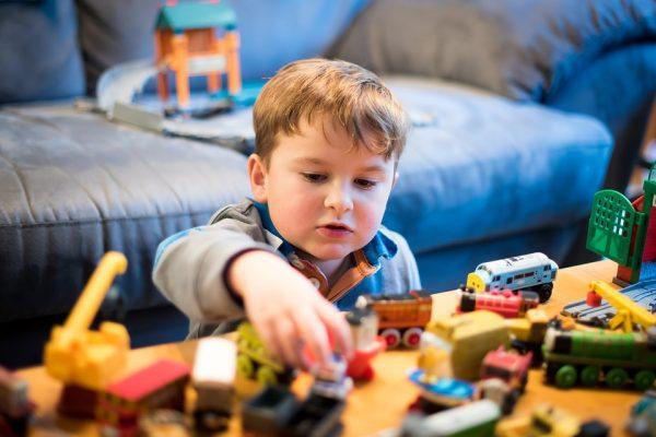 treinen speelgoed